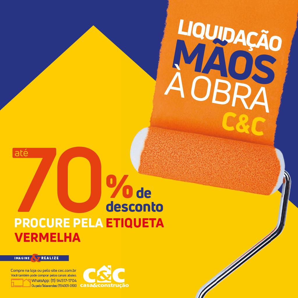 Tabloide Liquidação Mãos à Obra - Serra