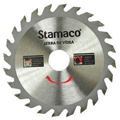 """""""Disco de Serra em Vídea Serramax 105mm (4.3/8"""""""") com 30 Dentes"""" - Stamaco"""