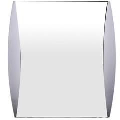Espelho em Acrílico Retangular Estilo 49,5x39,5cm Fumê - Formacril