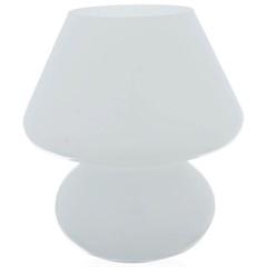 Abajur em Vidro Fancy 24cm Bivolt Branco - Casa Etna