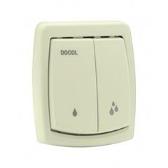 Acabamento para Válvula de Descarga Salvágua Box Bege Ref.: 00566824  - Docol