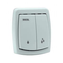 Acabamento para Válvula de Descarga Salvágua Box Cinza Pérola Ref.:00566822  - Docol