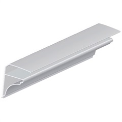 Acabamento Tipo Moldura Branco 3x3cm com 4 Metros