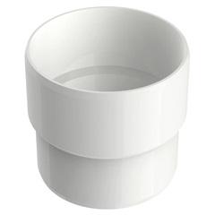 Acoplamento Circular Aquapluv Style Branco - Tigre