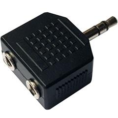 Adaptador 2 P2 Jack X P2 Plug Estéreo - TMS