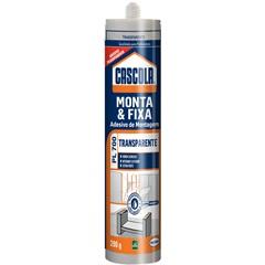 Adesivo de Montagem Monta & Fixa Pl700 290g Transparente - Cascola