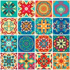 Adesivo para Azulejo Atacama 15x15cm com 16 Peças Multicolorido - Dona Cereja