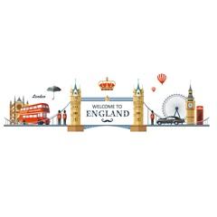 Adesivo para Parede England 60x90cm com 1 Peça - Evolux