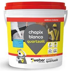Aditivo Chapix Branco 3,6 Litros - Quartzolit