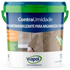 Aditivo Impermeabilizante Contra Umidade Branco 3,6 Litros - Viapol