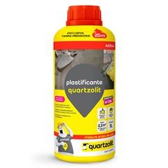 Aditivo Plastificante 1 Litro Marrom - Quartzolit