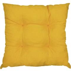 Almofada 4 Pesponto Amarela 45x45cm - Combinatta