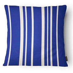 Almofada Decorativa Outdoor 021 43x43cm Azul E Bege - Belchior