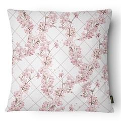 Almofada Decorativa Serenity 082 50x50cm Bege E Rose - Belchior