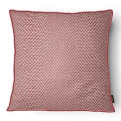 Almofada Decorativa Serenity com Cordone 103 50x50cm Vermelha - Belchior