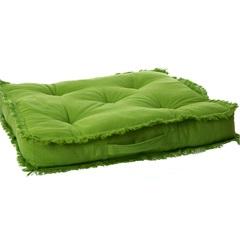 Almofada em Algodão Futton Ibizza 50x50cm Verde - Casa Etna