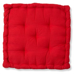 Almofada em Algodão Futton Lilla 40x40cm Vermelho - Casa Etna