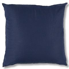 Almofada em Algodão Santorine 45x45cm Azul Marinho - Casa Etna