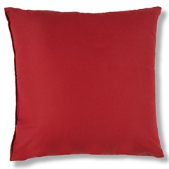 Almofada em Algodão Santorine 45x45cm Vermelha - Casa Etna