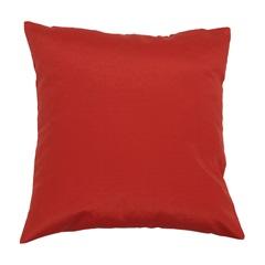 Almofada em Gorgurão Vermelha 45x45cm - Madritex