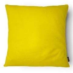 Almofada em Microfibra Aquarela 40x40cm Amarela - Casanova