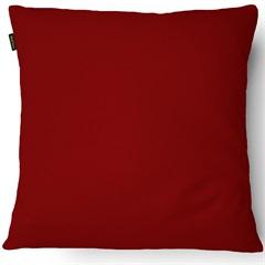 Almofada em Microfibra Aquarela 40x40cm Vermelha - Casanova