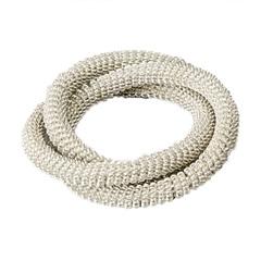 Anéis para Guardanapo em Alumínio Delhi 4,5x5,5cm com 4 Peças  - Wolff Delhi