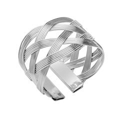 Anéis para Guardanapo em Inox Rolled com 4 Peças - Prestige