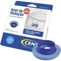Anel de Vedação com Guia para Vaso Sanitário Azul - Censi