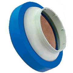 Anel de Vedação com Guia para Vaso Sanitário Azul - Roca