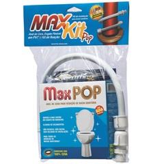 Anel de Vedação em Cera Engate Flexível Pvc 40cm E Kit de Fixação Completo 10mm em Latão - Maxseal