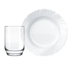 Aparelho de Jantar Petala 8 Pecas Nadir - Duralex