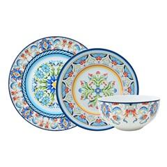 Aparelho de Jantar Tunisia em Porcelana com 18 Peças Estampado - L'Hermitage