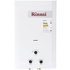 Aquecedor de Água a Gás Analógico 20 Litros Gn Branco - Rinnai