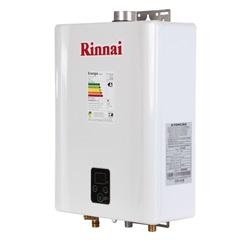 Aquecedor de Água a Gás Digital Bivolt Glp E21 Branco - Rinnai