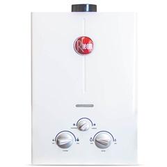 Aquecedor de Água a Gás Digital Classic 7 Litros Bivolt Gn Exaustão Forçada Branco - Rheem