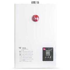 Aquecedor de Água a Gás Digital Prestige 12 Litros Bivolt Glp Branco - Rheem