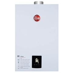 Aquecedor de Água a Gás Digital Prestige 22 Litros Bivolt Glp Branco - Rheem