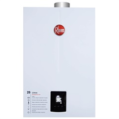 Aquecedor de Água a Gás Digital Prestige 26 Litros Bivolt Glp Branco