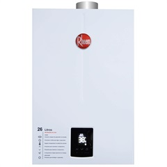 Aquecedor de Água a Gás Digital Prestige 26 Litros Bivolt Gn Branco - Rheem