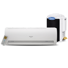 Ar-Condicionado com Controle Remoto 2121w 220v 22000btus Quente E Frio Split Springer Branco - Midea