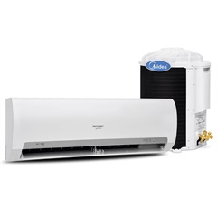 Ar-Condicionado com Controle Remoto Split Springer 220v 9000 Btus Quente/Frio Branco - Kit