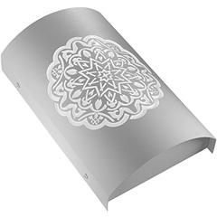 Arandela em Aço Arco Alhambra Branca 6000k Luz Branca Bivolt - RCG Tecnologia
