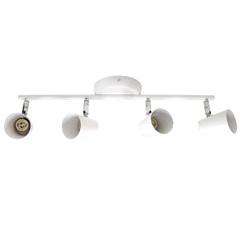 Arco em Aço para 4 Lâmpadas Short 127v Branca - Bronzearte