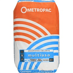 Argamassa Ac 3 Multiflex Cinza 20kg - Metropac