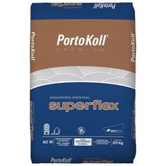 Argamassa Ac 3 Super Flex Cinza 20kg - Portokoll