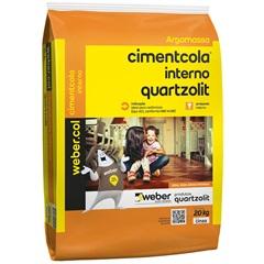 Argamassa Colante Cimentcola Interno Cinza 20kg
