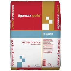 Argamassa Colante Ligamax Extra Branca 20kg