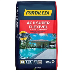 Argamassa Flexível para Assentamento Interno/Externo 20kg - Fortaleza