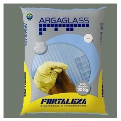 Argamassa para Pastilha de Vidro Argaglass 20 Kg Verde Pistache 740 - Fortaleza